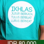 Tshirt Ikhlas