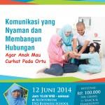 Seminar Parenting Pendidikan Karakter Juni 2014