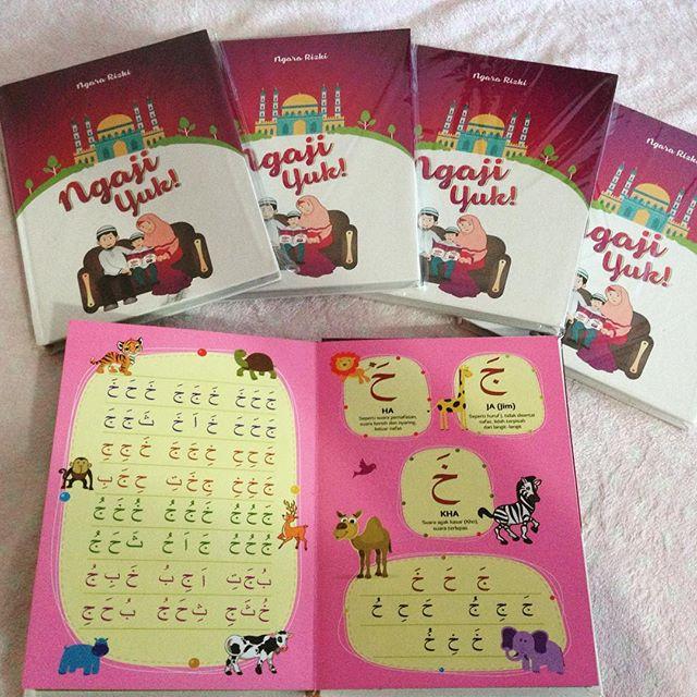 Buku Iqra Balita, Buku Iqra Anak, Buku Pendidikan Karakter, Buku Mendidik Karakter